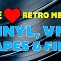 We ? Retro Media: Vinyl, VHS, Tapes & Film