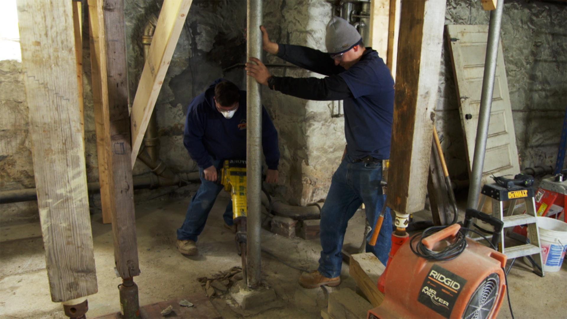 & Belmont Victorian | Bracing the Basement | This Old House | LPB
