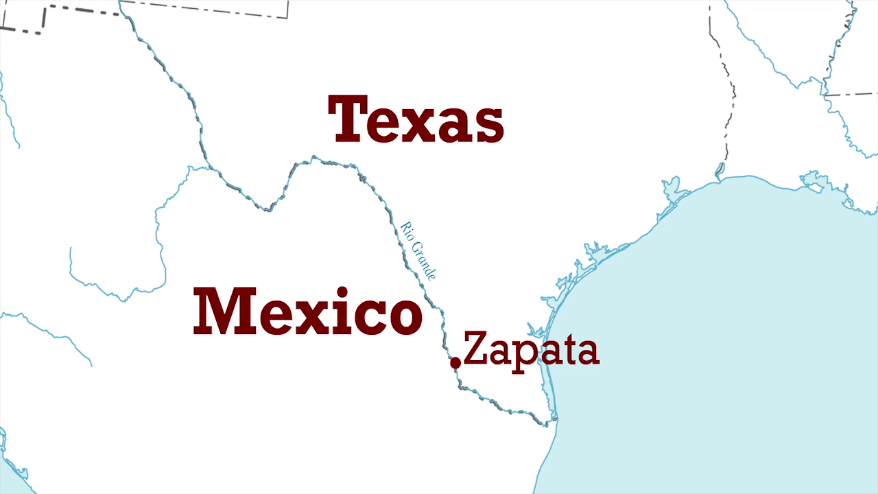Map Of Zapata Tx.Mariachi High This Is Zapata Texas