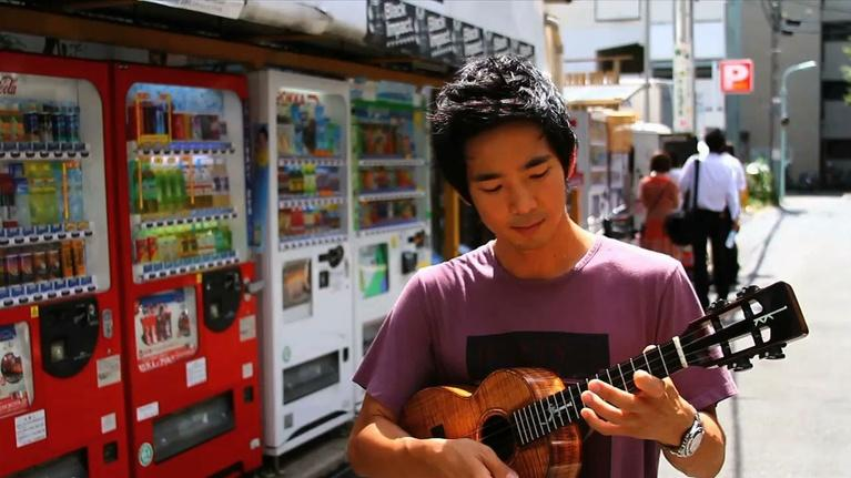Jake Shimabukuro: Life On Four Strings: Jake Playing in the Streets of Tokyo