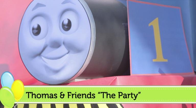PBS Parents Birthday Parties: Thomas Birthday Party