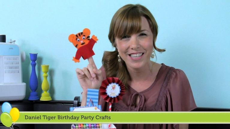 PBS Parents Birthday Parties: Daniel Tiger Birthday Party Crafts