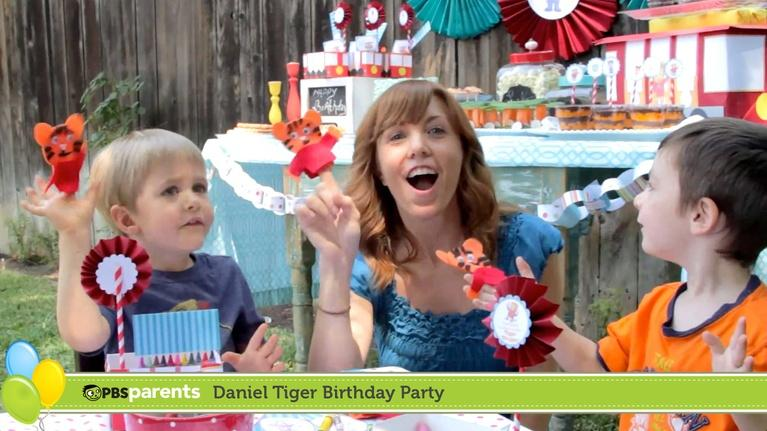 PBS Parents Birthday Parties: Daniel Tiger Birthday Party