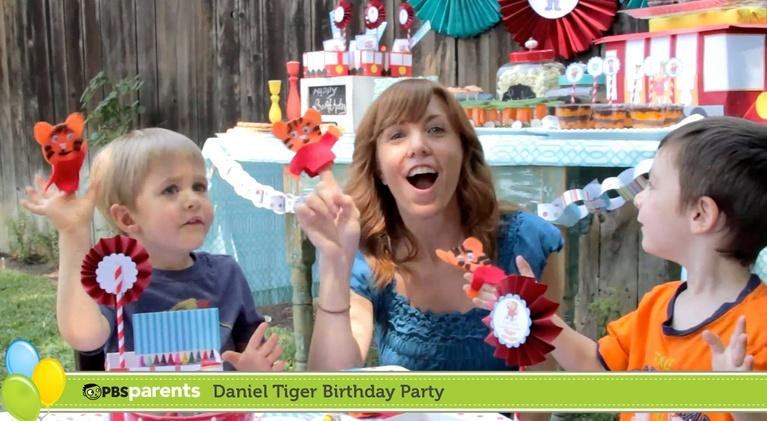 PBS Parents: Daniel Tiger Birthday Party