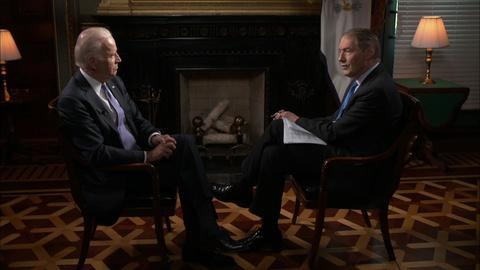 Charlie Rose The Week -- Joe Biden on the Possibility of New Gun Laws