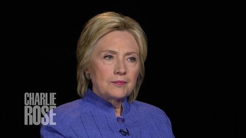 Charlie Rose The Week -- Hillary Clinton on Income Inequality