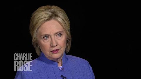 Charlie Rose The Week -- Clinton on Trump's Fitness to be President