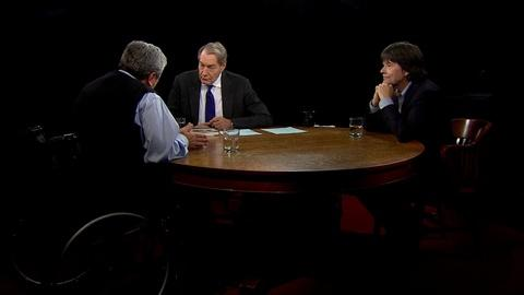Charlie Rose The Week -- Ken Burns and Artemis Joukowsky on 'Sharps War'