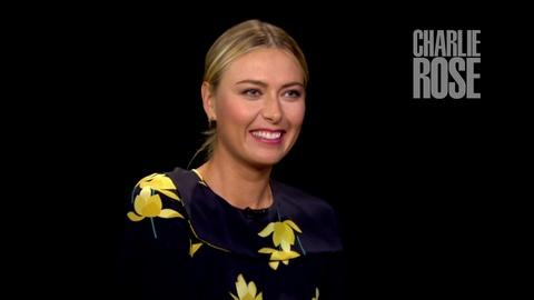 Charlie Rose The Week -- How Maria Sharapova Has Trained Since Her Suspension