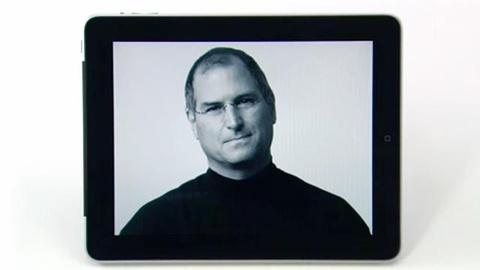 Steve Jobs - One Last Thing -- Teaching Andy Warhol to Draw