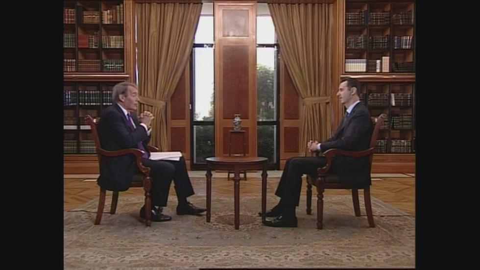 Syria's Assad on Obama's 'Red Lines' image