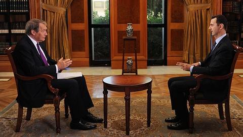 Charlie Rose The Week -- Charlie Rose Assad Interview