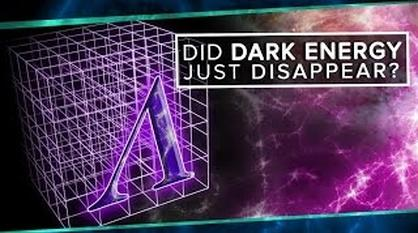 PBS Space Time -- Did Dark Energy Just Disappear?