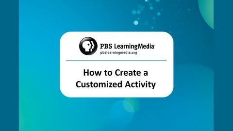 How to Create a Customized Activity