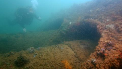 Pearl Harbor - Into the Arizona -- Sunken Relics Revealed