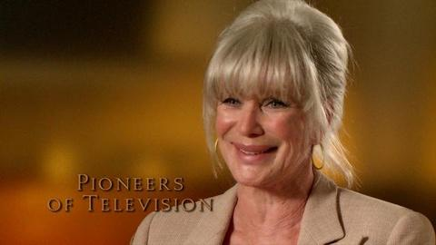 Pioneers of Television -- Linda Evans - on crying