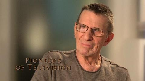 Pioneers of Television -- Leonard Nimoy - the pace of TV work