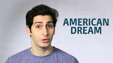 Point Taken -- One Word or Less: Is the American Dream Dead or Alive?