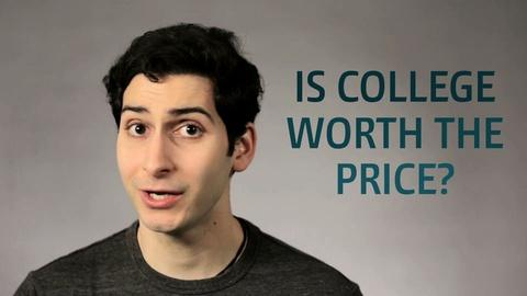Point Taken -- One Word or Less: Is College Worth the Price?