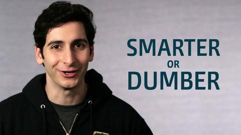 Point Taken -- One Word or Less: Is Technology Making Us Smarter or Dumber?