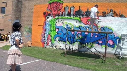 POV -- The Mural