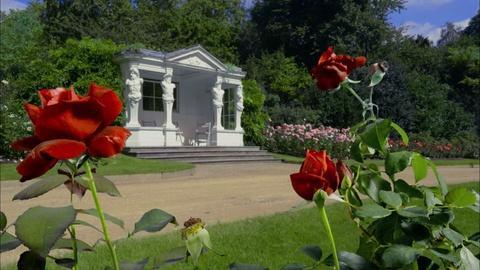 The Queen's Garden -- The Rose Garden