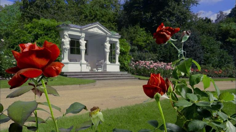 The Queen's Garden: The Rose Garden