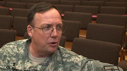 Religion & Ethics NewsWeekly -- Lt. Col. Eric Olsen Interview