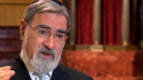 Religion & Ethics NewsWeekly -- Rabbi Jonathan Sacks Extended Interview
