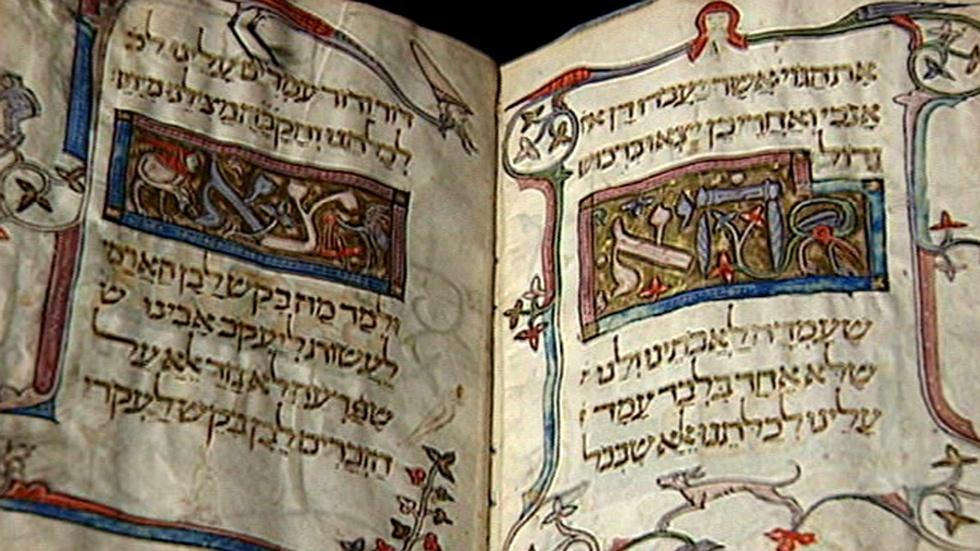 The Passover Haggadah image