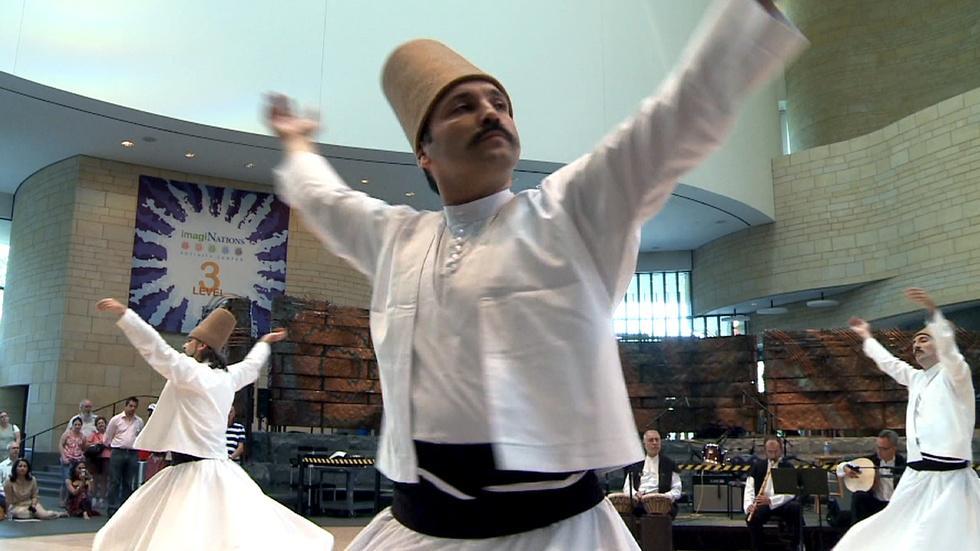 Sufi Whirling Dervishes image