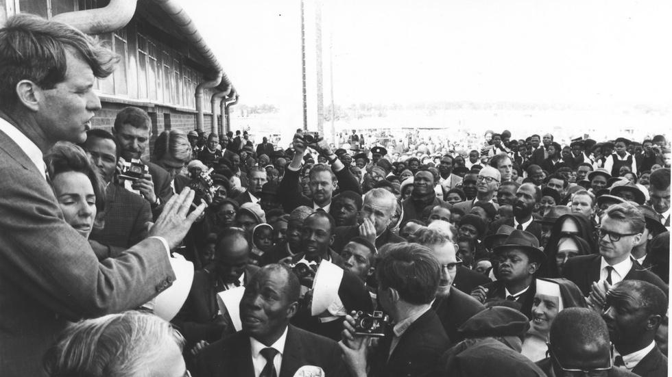 Track RFK's 1966 Visit to South Africa image