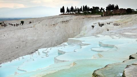 Hierapolis and Pamukkale, Turkey: Curative Waters