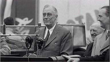 Franklin Delano Roosevelt: Visit To Ebbets Field