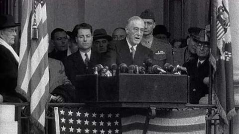 The Roosevelts -- Franklin Delano Roosevelt: Fourth Inaugural Address