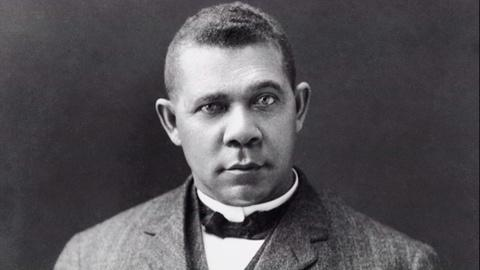 Timeline Clip - Theodore and Booker T. Washington at Dinner