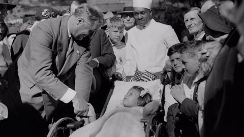 Timeline Clip: FDR creates rehab center for fellow polios