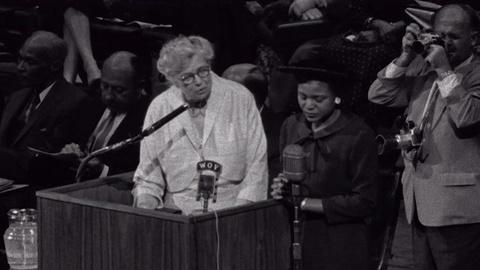The Roosevelts -- Education Clip: Eleanor Roosevelt Overcoming Fear