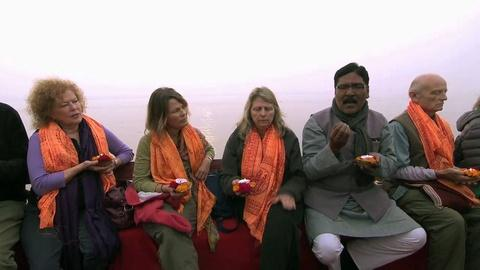 Sacred Journeys -- Notes from the Field: On the Ganges (Kumbh Mela)