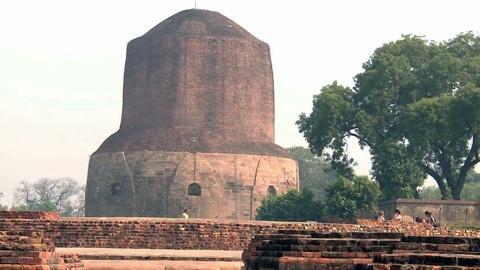 Sacred Journeys -- Notes from the Field: The Dhamek Stupa (Kumbh Mela)