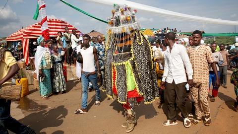 Sacred Journeys -- Osun-Osogbo