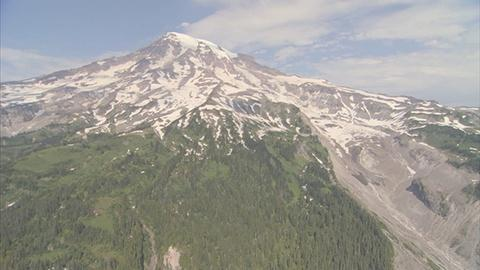 Saving the Ocean -- Aerial Tour of Mount Rainier