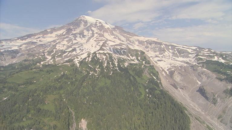 Saving the Ocean: Aerial Tour of Mount Rainier
