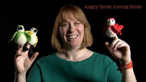 S2013 E38: Danielle Whittaker: Angry Birds, Loving Birds