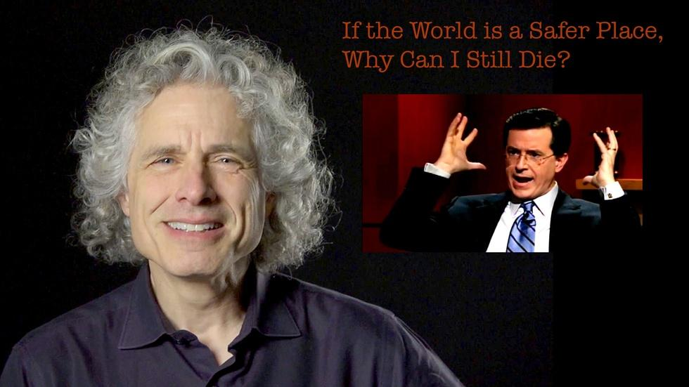 S2013 Ep40: Steven Pinker: If the World is Safer, Why Can I  image