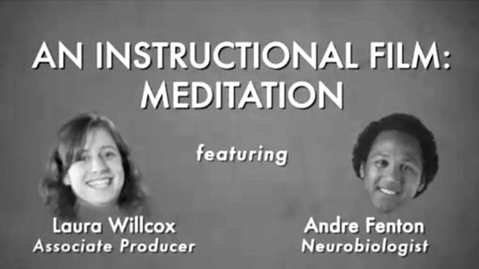 S2011 Ep20: Andre Fenton: Instructional Film: Meditation image