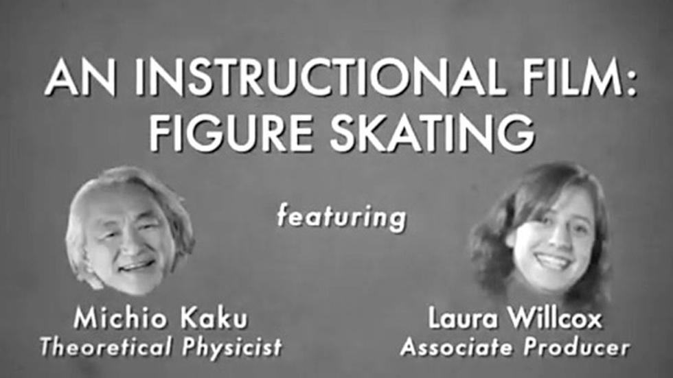 S2011 Ep1: Michio Kaku: Figure Skating: An Instructional Fil image