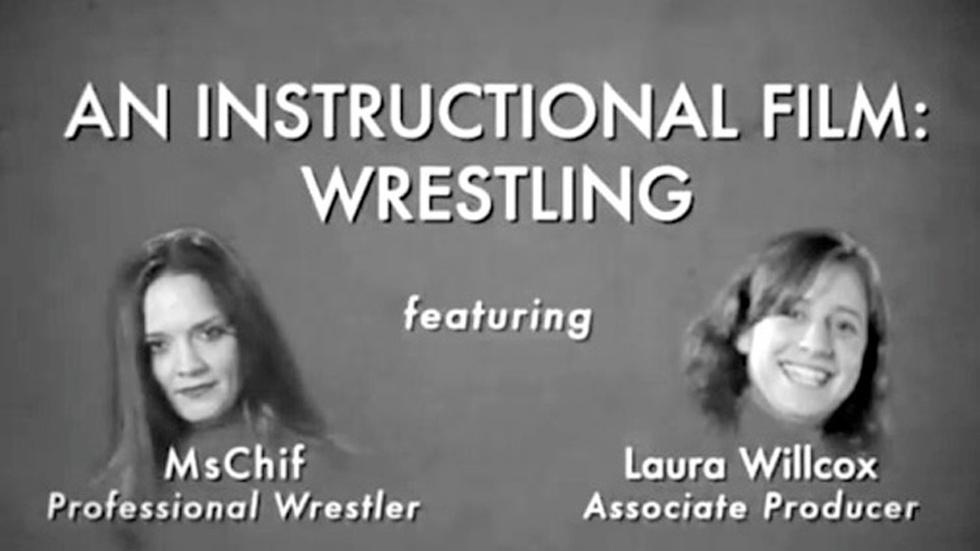 S2010 Ep50: Rachel Collins: An Instructional Film: Wrestling image