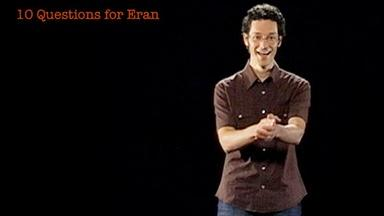 Eran Egozy: 10 Questions for Eran