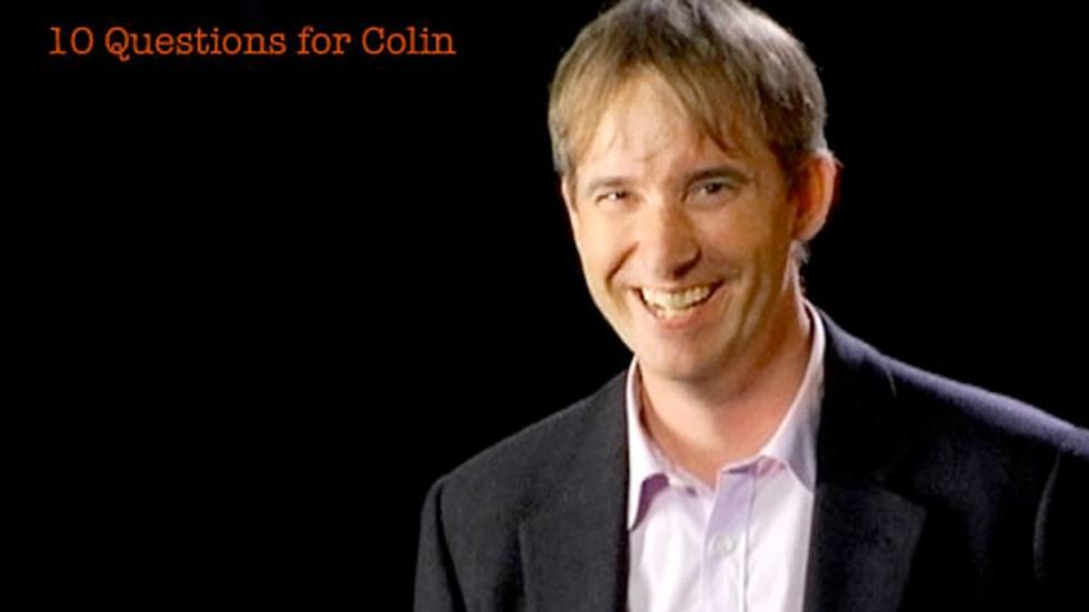 Colin Angle: 10 Questions for Colin image